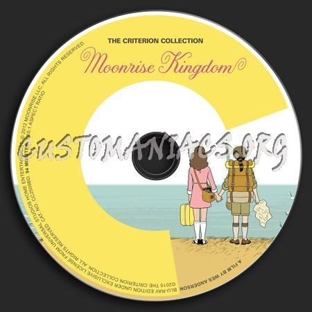 776 - Moonrise Kingdom dvd label
