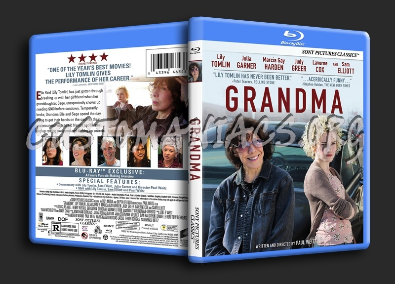 Grandma blu-ray cover