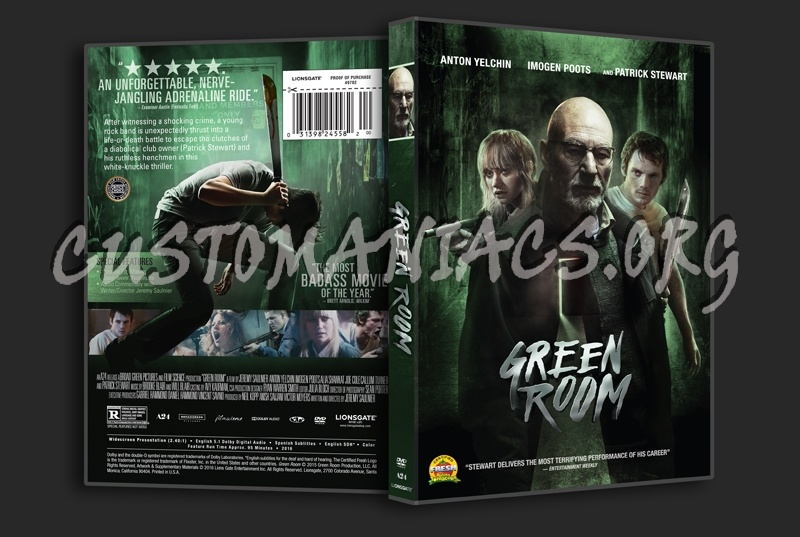 Green Room dvd cover