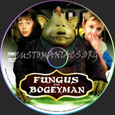 Fungus the Bogeyman dvd label