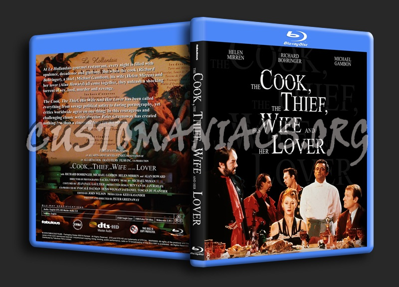 The Cook The Thief His Wife and Her Lover blu-ray cover