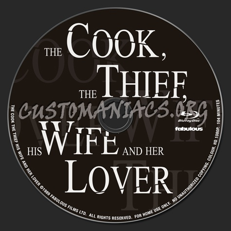 The Cook The Thief His Wife and Her Lover blu-ray label