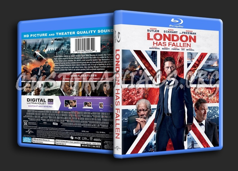 London Has Fallen blu-ray cover