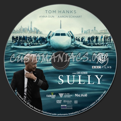 Sully dvd label