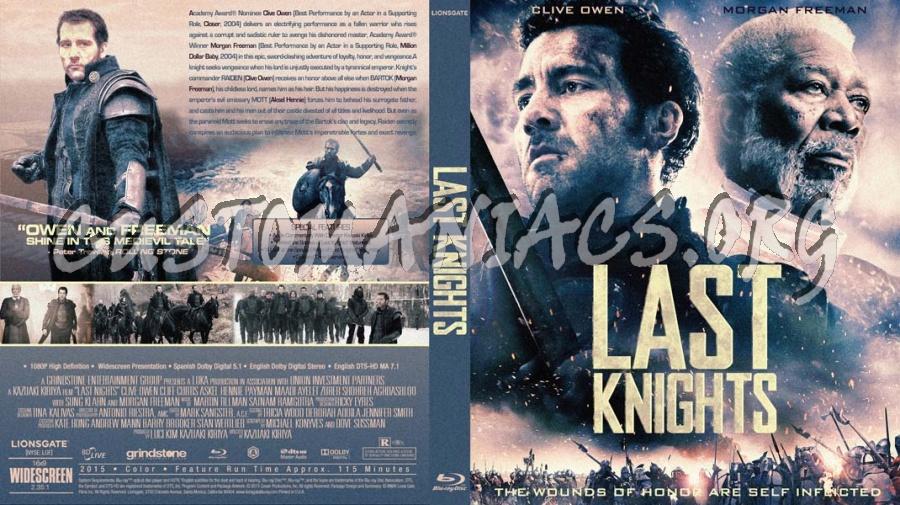 Last Knight's blu-ray cover