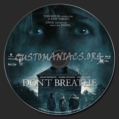 Don't Breathe blu-ray label