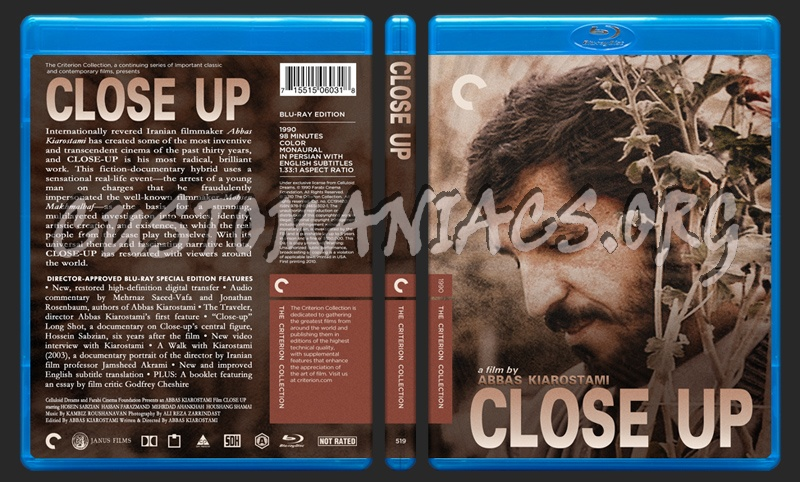 519 - Close Up blu-ray cover