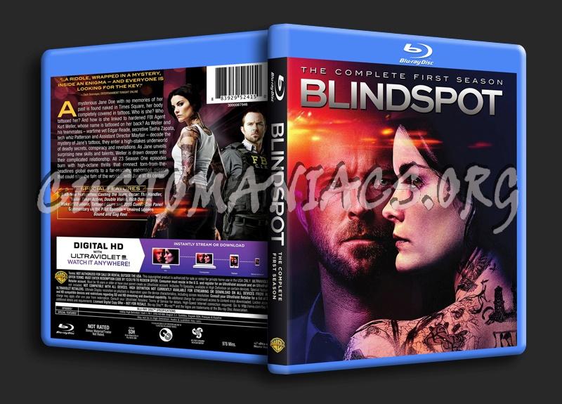 Blindspot Season 1 blu-ray cover