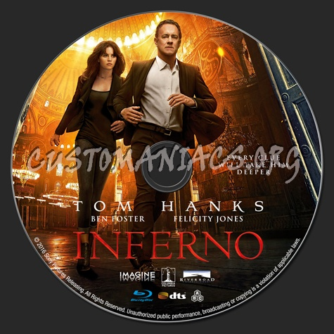 Inferno blu-ray label