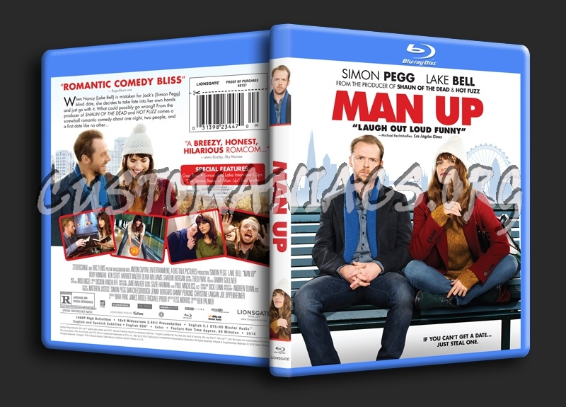 Man Up blu-ray cover