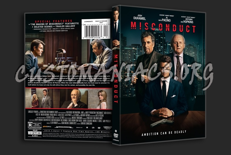 Misconduct dvd cover
