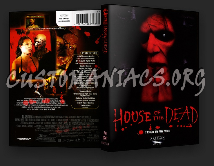 House of the Dead dvd cover - DVD Covers & Labels by