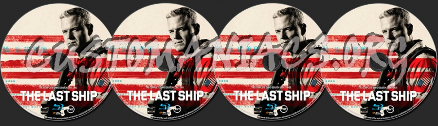 The Last Ship Season 3 blu-ray label