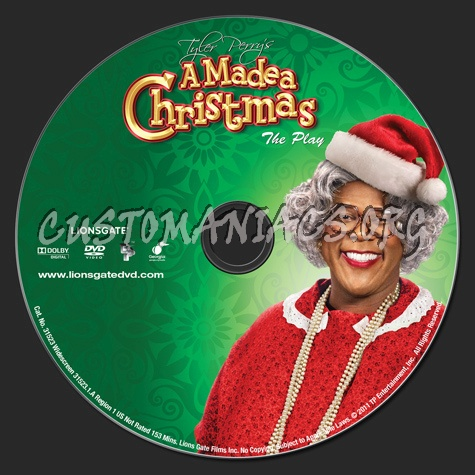 Madea Christmas Full Play.A Madea Christmas The Play Dvd Label Dvd Covers Labels By