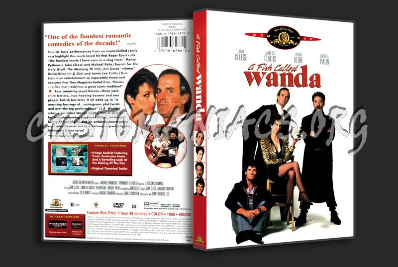 A Fish Called Wanda dvd cover