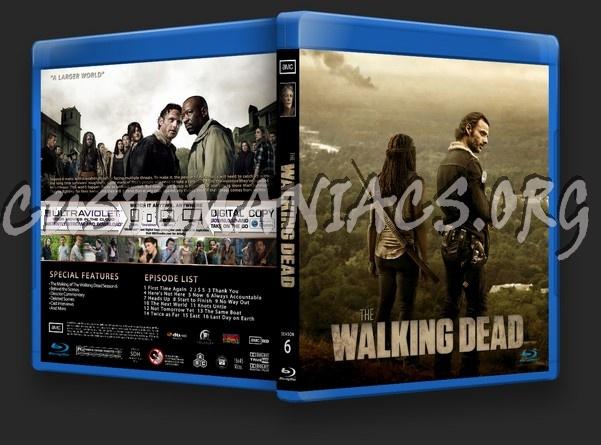 The Walking Dead Season 6 blu-ray cover