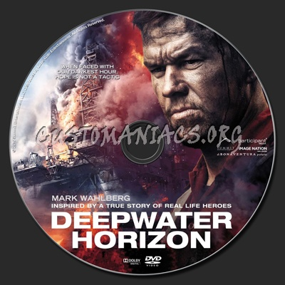 Deepwater Horizon dvd label