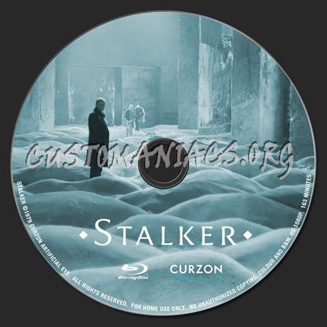 Stalker blu-ray label