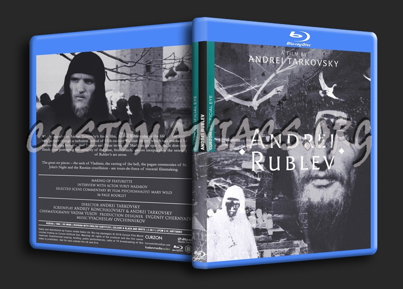 Andrei Rublev blu-ray cover