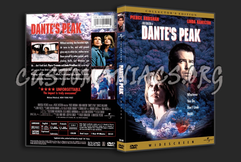 Dante's Peak dvd cover