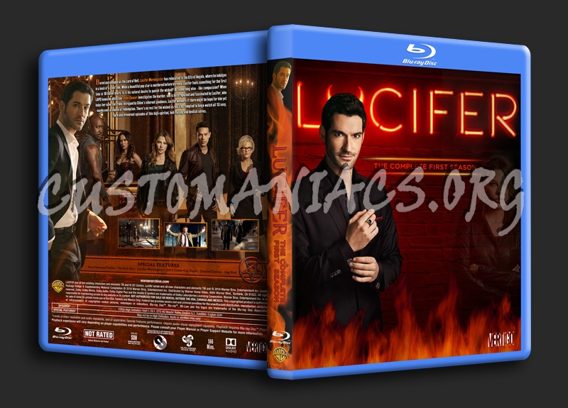 Lucifer Season 1 blu-ray cover