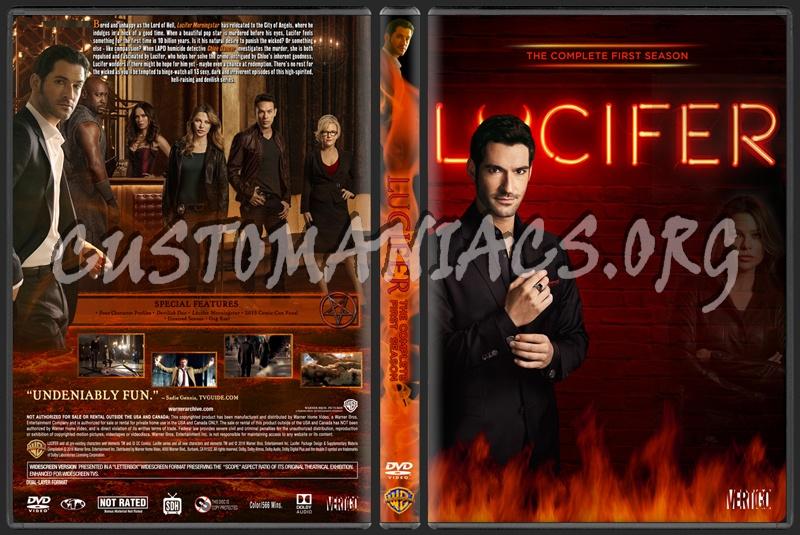 Lucifer Season 1 dvd cover