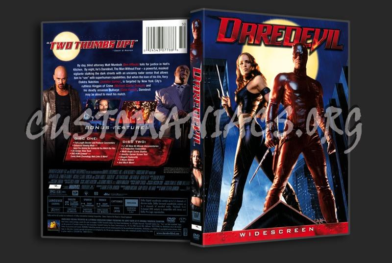 Daredevil dvd cover