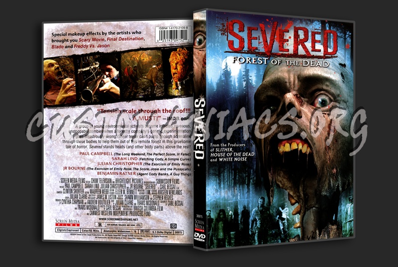 Severed Forest Of The Dead dvd cover