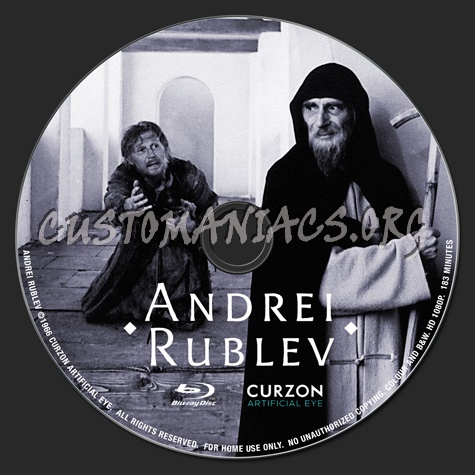 Andrei Rublev blu-ray label