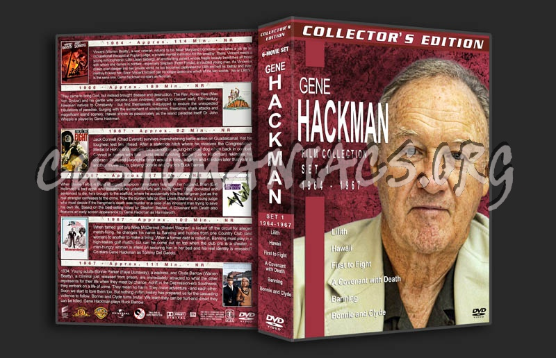 Gene Hackman Film Collection - Set 1 (1964-1967) dvd cover