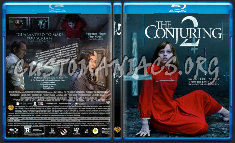 The Conjuring 2 dvd cover