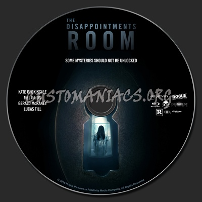 The Disappointments Room blu-ray label - DVD Covers & Labels by ...