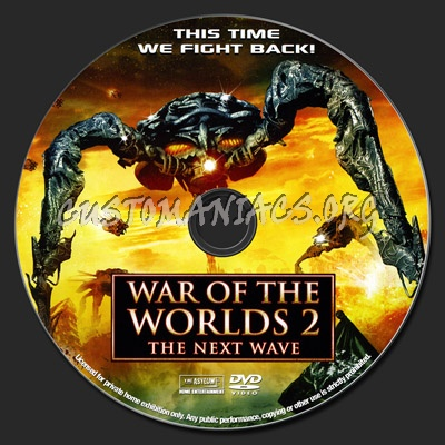 Dvd World War z War of The Worlds 2 The Next