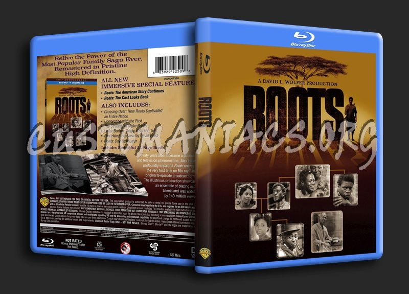 Roots blu-ray cover