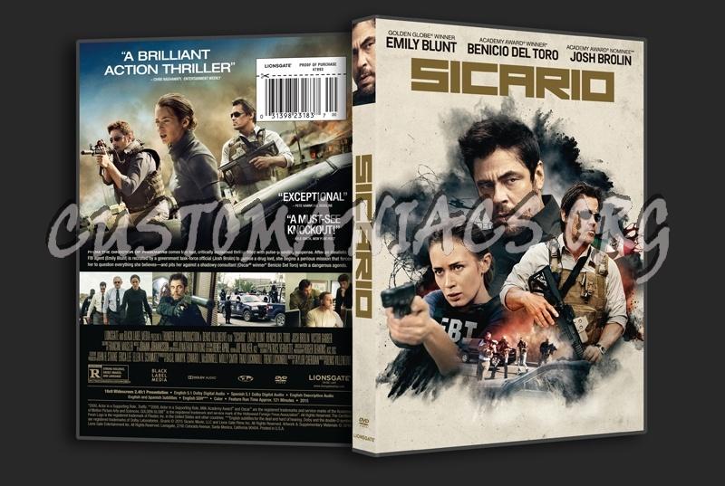 Sicario dvd cover