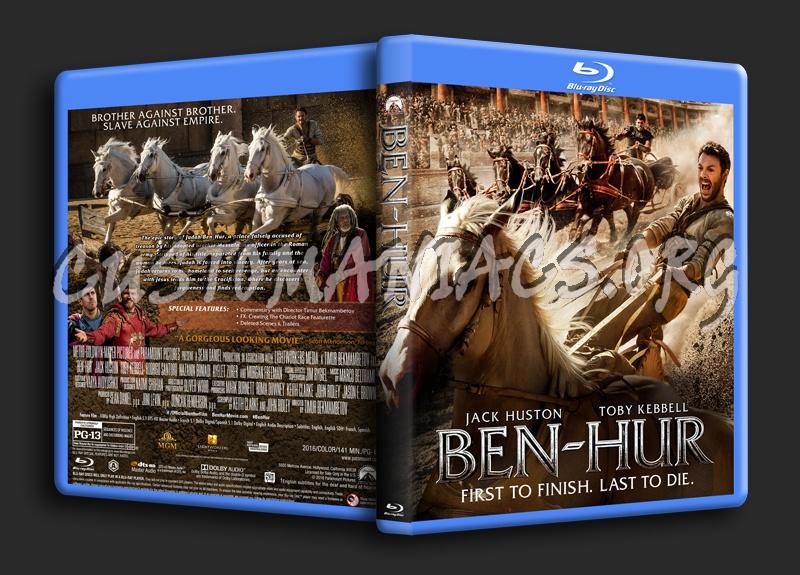 Ben-Hur (2016) blu-ray cover