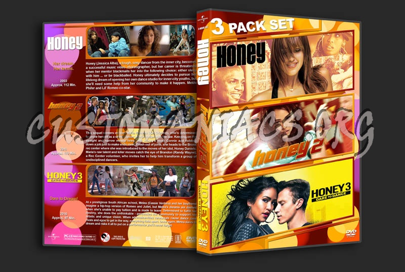 Honey Triple Feature dvd cover
