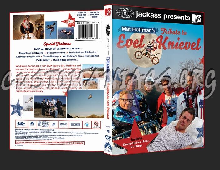 Jackass Matt Hoffman's tribute to evel Knievel dvd cover
