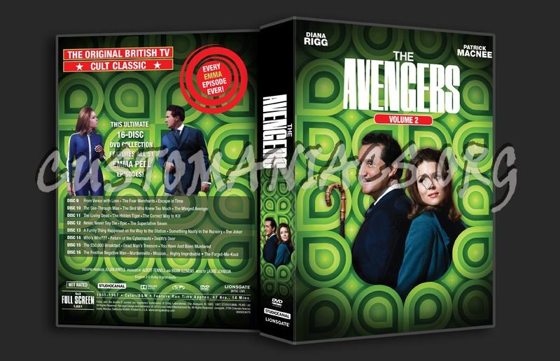 The Avengers Volume 2 dvd cover