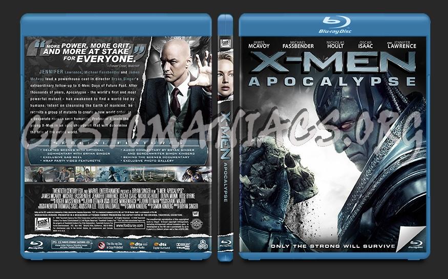 X-Men: Apocalypse blu-ray cover