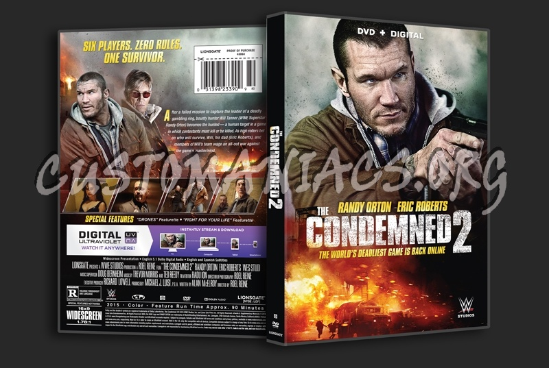 The Condemned 2 dvd cover