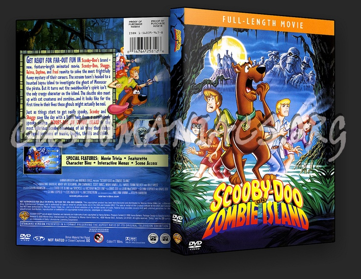 scooby doo on zombie island 1998 full movie