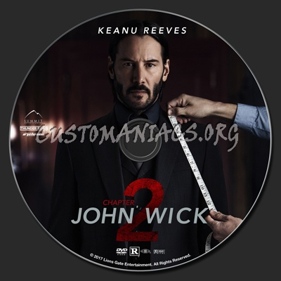 John Wick Chapter 2 Dvd Label Dvd Covers Amp Labels By