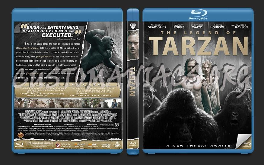 The Legend of Tarzan blu-ray cover