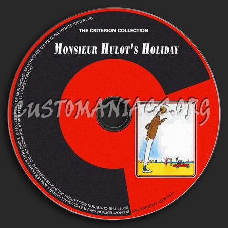110 - Monsieur Hulot's Holiday dvd label