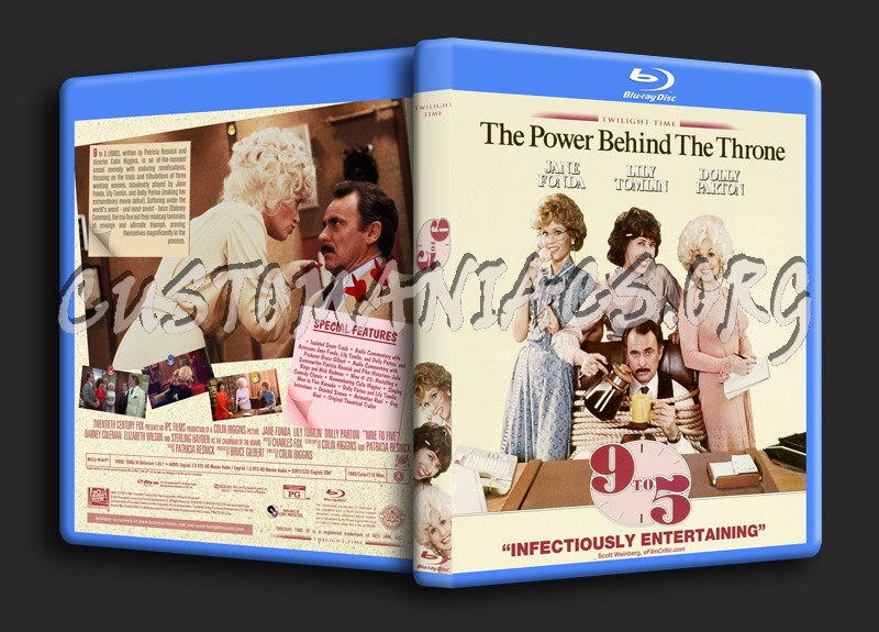 Nine To Five (9 to 5) blu-ray cover