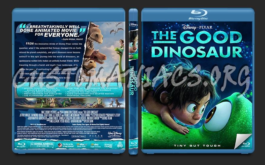 The Good Dinosaur blu-ray cover