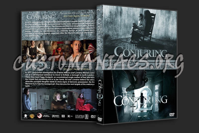 The Conjuring Double Feature dvd cover