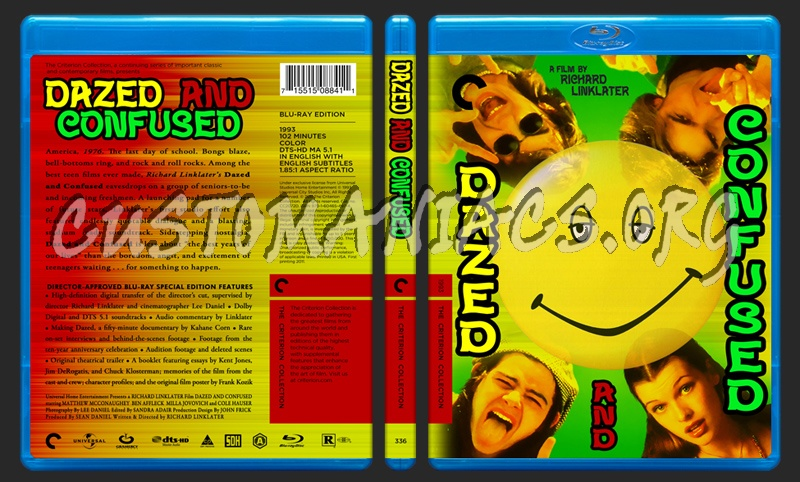 336 - Dazed And Confused blu-ray cover