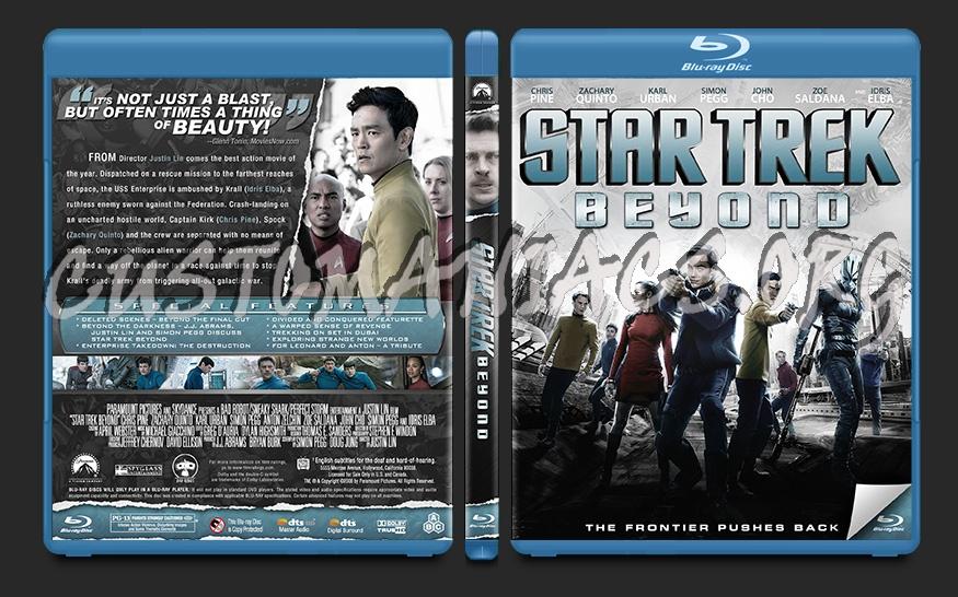 Star Trek Beyond blu-ray cover